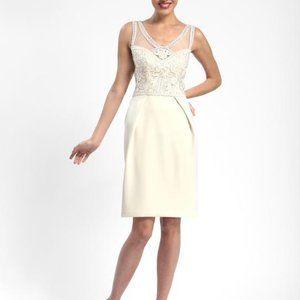 Sue Wong Ivory Embellished Wedding Dress 10
